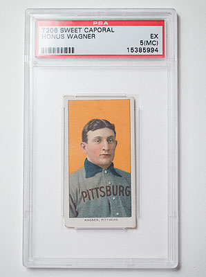 The T206 Honus Wagner card is the most valuable line of baseball cards ever produced.