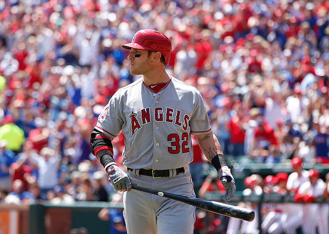 Josh Hamilton was booed in his return to Arlington  and was held hitless during an Angels loss.