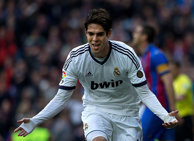 Kaka's goal in the 39th minute gave Real Madrid a lead against Levante that it would never relinquish.