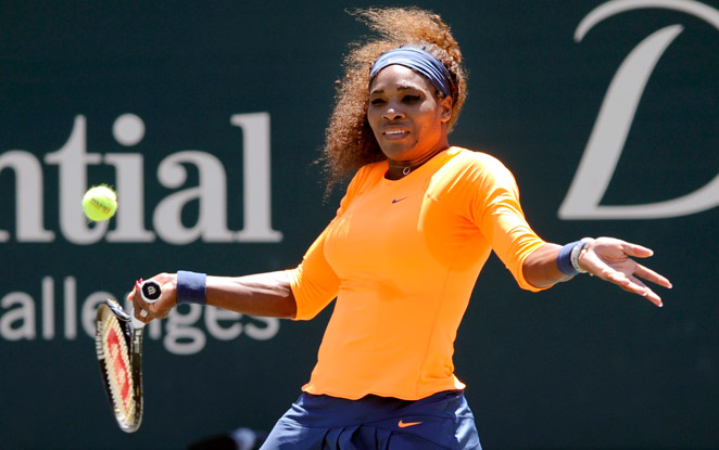 Serena Williams has now won six straight matches over Venus and is 14-10 against her lifetime.