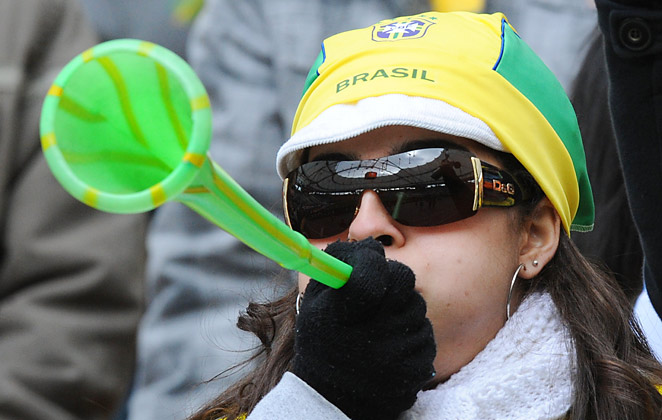 The long plastic horns known as vuvuzelas gained notoriety for their consistent use at the 2010 World Cup in South Africa.