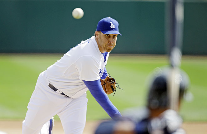 Even at 34 years old, Harang started 31 in 2012 for the Dodgers, finishing with a 3.61 ERA.