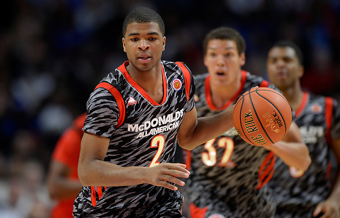 Aaron Harrison is one of six potential stars that composes one of John Calipari's best recruiting efforts.