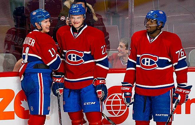 Talented kids Brendan Gallagher, Alex Galchenyuk and PK Subban are making Habs' fans happy again.