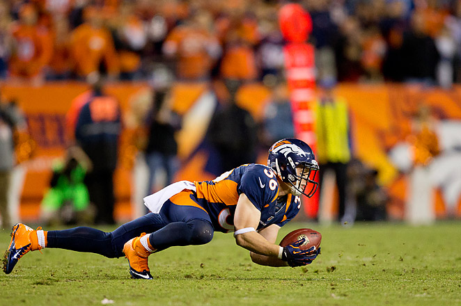 Leonhard  had two interceptions and seventeen tackles over the course of the season for the Broncos last year.