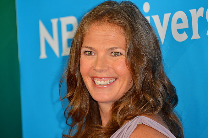Two-time Olympic medalist skier Picabo Street won gold at the 1998 Games in Nagano, Japan.
