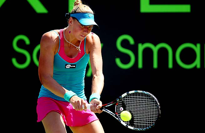 Yanina Wickmayer, ranked No. 35, is the second-highest ranked Belgian behind Kirsten Flipkens.