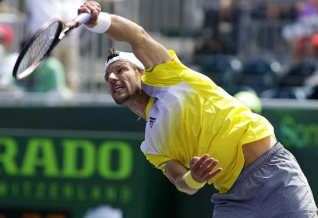 Austrian Jurgen Melzer is ranked No. 37 on the ATP Tour.