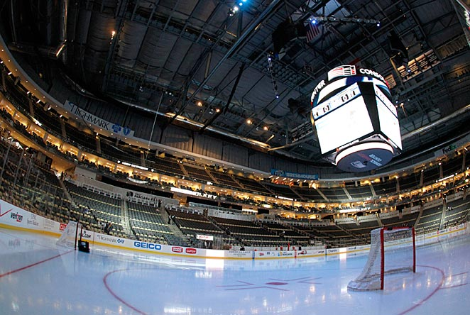 With the Penguins out of town, college hockey will invade the Consol Energy Center.