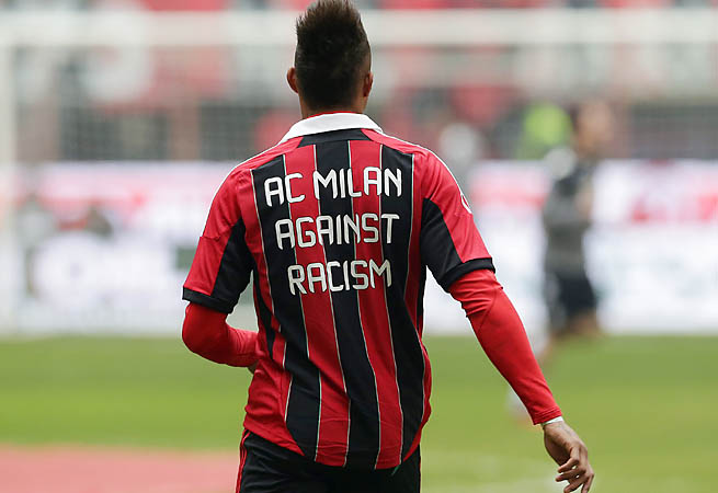 Kevin-Prince Boateng led AC Milan off a field during a friendly after facing racist abuse.