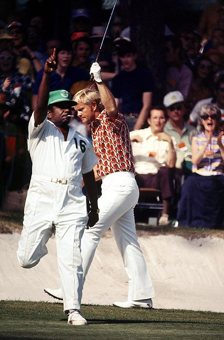 Nicklaus was the only player to finish under par when he won his fourth green jacket in 1972.