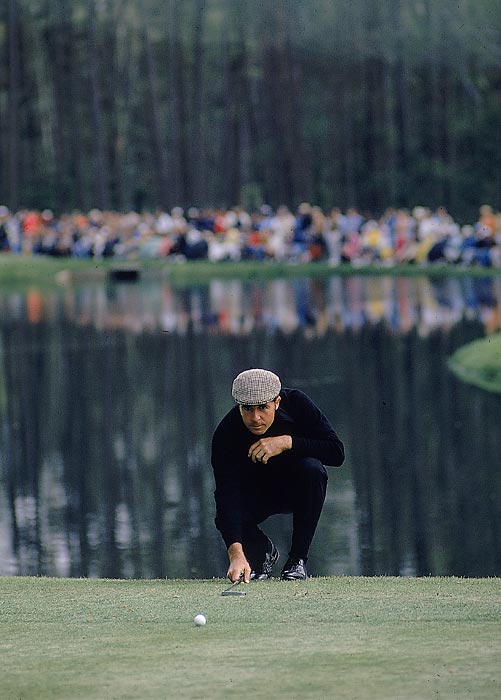 Gary Player tied for 28th in 1976.