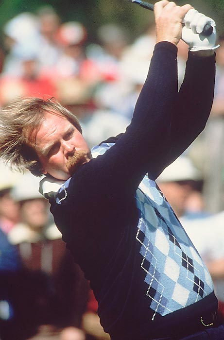 Craig Stadler blew a six-shot lead on the final nine holes, but he beat Don Pohl on the first playoff hole to win in 1982.