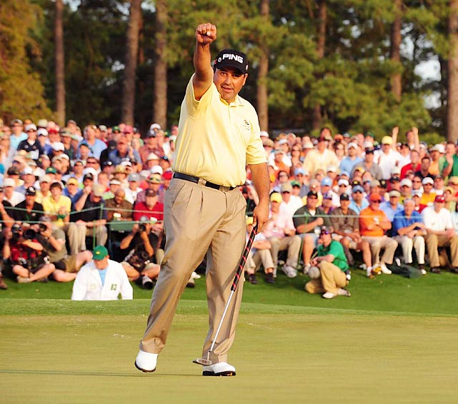 Angel Cabrera became the first Masters champion from South America when he won in a playoff in 2009.