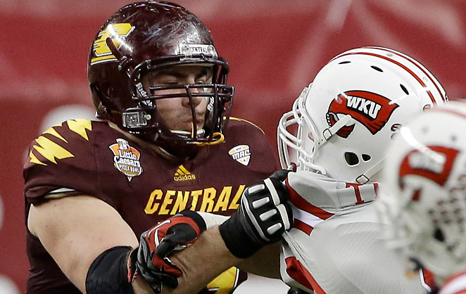 Eric Fisher has been steadily rising in profile since the end of the college football season.
