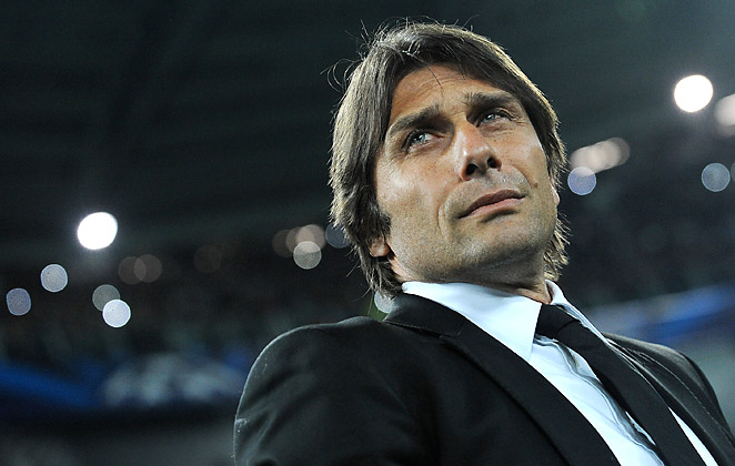 Antonio Conte competed for Champions League titles as a Juventus player, but doesn't think his side can do the same now.