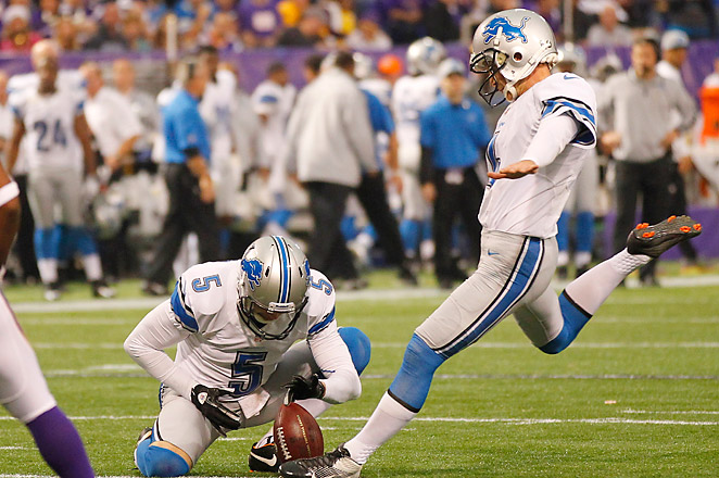 Former Lions kicker Jason Hanson (above), announced his retirement earlier this week after 21 seasons.