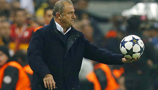 Fatih Terim and Galatasaray were eliminated from the Champions League by Real Madrid.