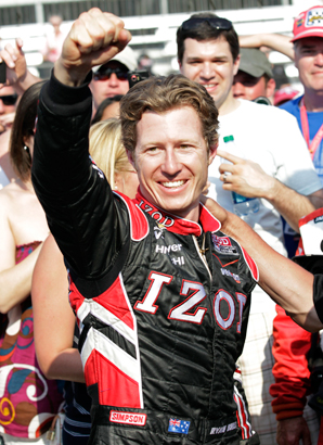 After winning the pole at last year's Indianapolis 500, Ryan Briscoe was without a team until he signed with Chip Ganassi.