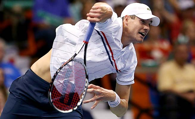 John Isner is the second highest ranked American man at No. 23, behind Sam Querrey.