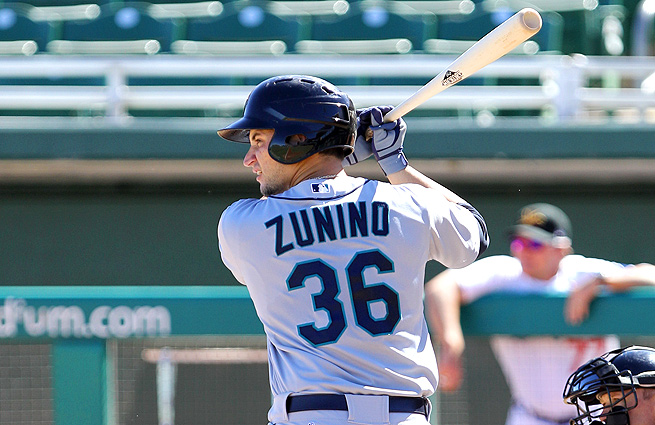 Mike Zunino's hot bat and excellent defensive skills warrant a closer look from the Mariners.