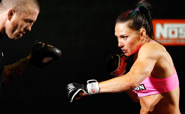 Cat Zingano has fought in seven professional MMA fights, nine fewer than Miesha Tate has.