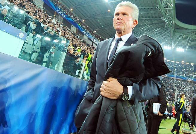 Jupp Heynckes and Bayern are going for a treble among the Bundesliga, German Cup and Champions League.