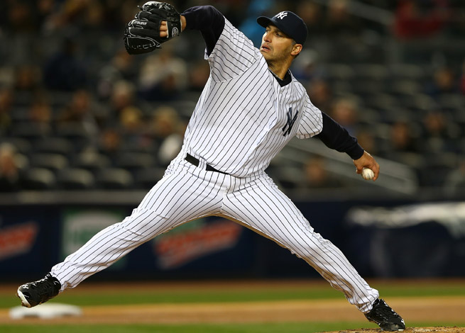 Andy Pettitte is 2-0 with a 1.20 ERA in 15 innings pitched for the Yankees this season.