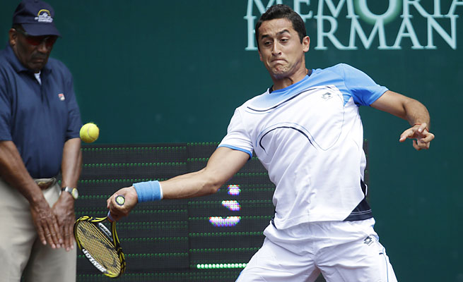 Nicolas Almagro owns 12 career ATP titles -- all on clay.