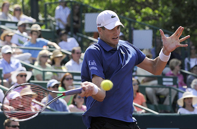 John Isner's 57 aces in the tournament is just three short of the record set by Pete Sampras in 2002