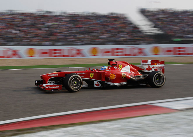 Fernando Alonso's win in the Chinese Grand Prix moved him up to third in the F1 standings.