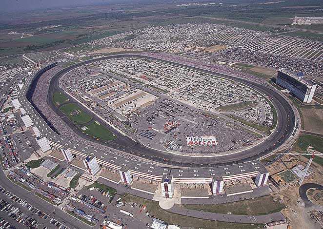 According to police, a man was found dead during a race at Texas Motor Speedway Saturday night.