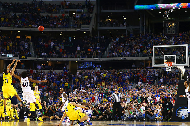 Sophomore Burke will finish his career at Michigan with 1,231 points in two seasons.