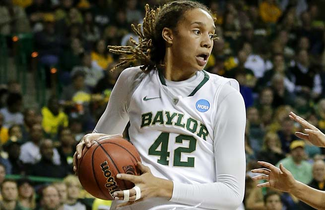 Brittney Griner and 2012 NCAA champion Baylor were upset in the Sweet 16 by Louisville.