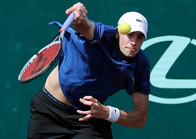 John Isner fired a tournament-record 64 aces en route to winning the Houston title.