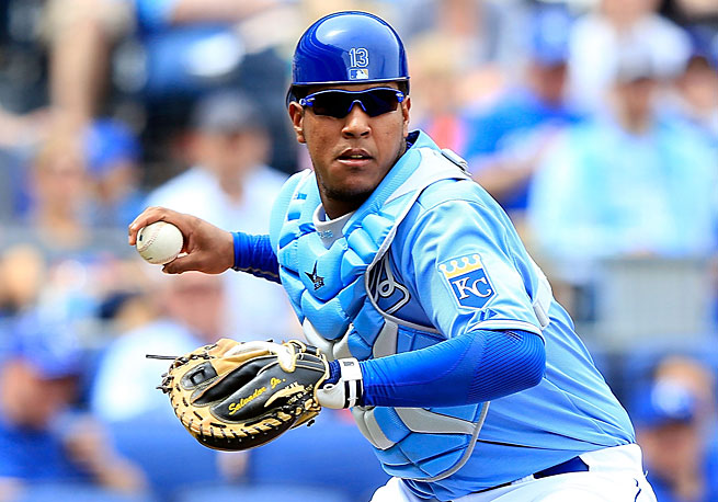 Salvador Perez may already be the best defensive catcher in the American League.