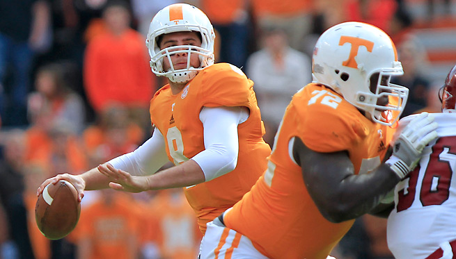 Tyler Bray dealt with losing the coach who recruited him at Tennessee when Lane Kiffin left for USC.