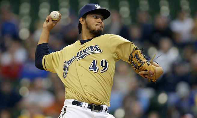 Yovani Gallardo had a blood-alcohol level of 0.22; the legal limit is 0.08.