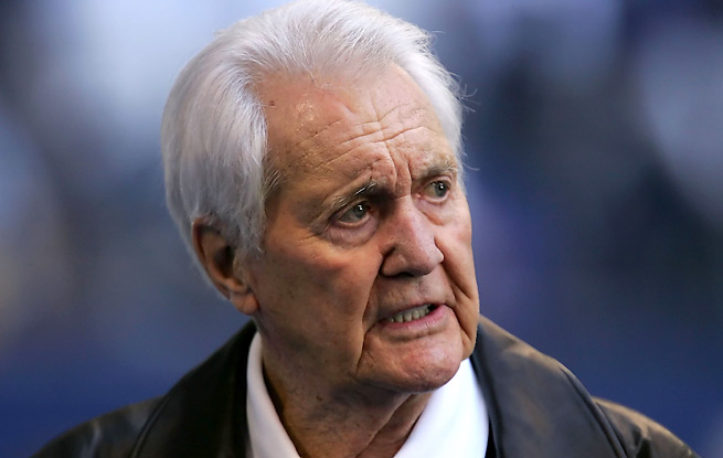 Pat Summerall worked in the booth for a still-record 16 Super Bowls, his last coming in 2002.