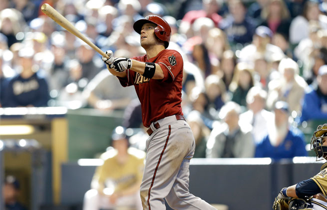 The Diamondbacks placed second baseman Aaron Hill on the 15-day DL with a broken left hand.
