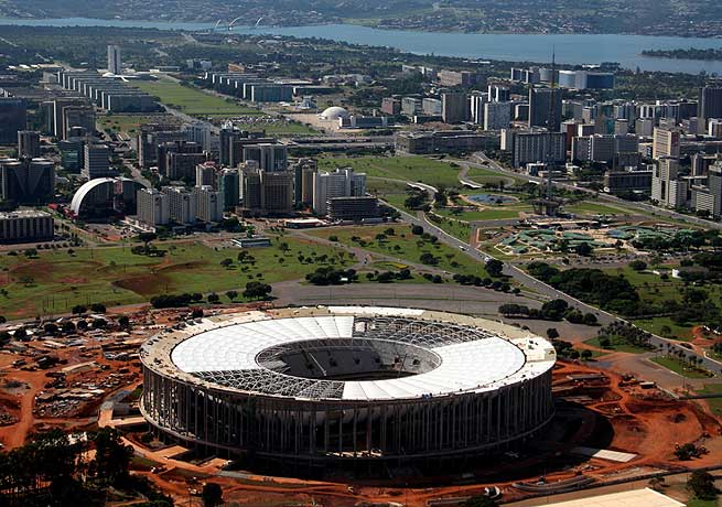 The Mane Garrincha is one of the stadiums that FIFA will monitor ahead of the upcoming Confederations Cup.
