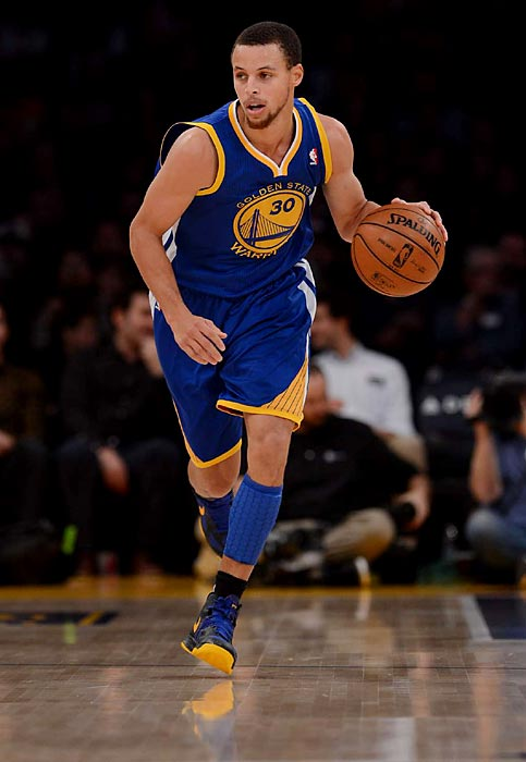 Could the playoffs serve as Curry's national coming-out party? Yes, he exploded for 54 points at Madison Square Garden and has dazzled all season with his shooting. But Curry has never made the All-Star team or been in the playoffs until now, so he could raise his profile by leading the upstart Warriors to a first-round upset of Denver.