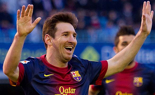 Lionel Messi and Barcelona face Bayern Munich in the first leg on Tuesday.