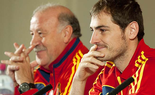 Iker Casillas captained Spain to the last two European championships and the World Cup.