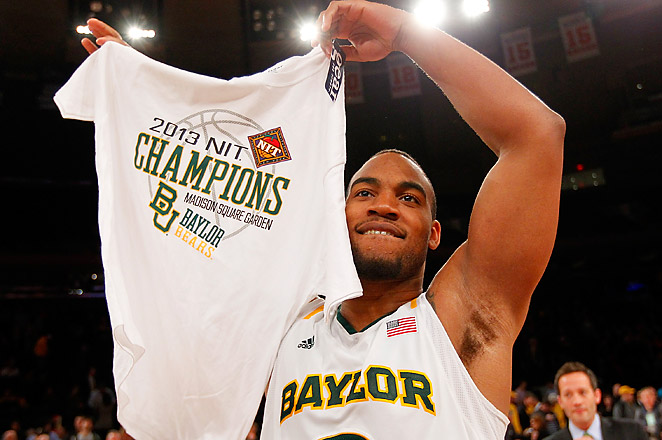 Baylor was left out of the 2013 NCAA Tournament, but went on to win this year's NIT tournament.