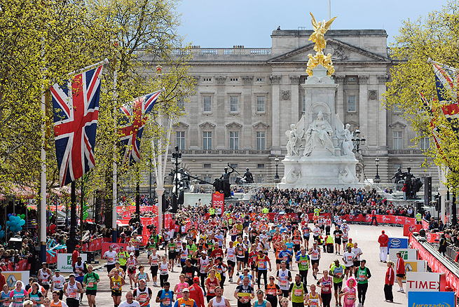 London Marathon organizers point to successful security at the Olympics to reassure runners in the marathon this weekend.