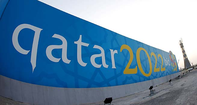 Qatar won the rights to the 2022 World Cup in December 2010.