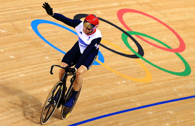 Britain's Chris Hoy is the country's most decorated Olympian, winning seven medals over three Games.