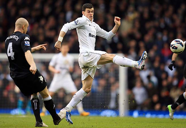 Gareth Bale and Spurs face Manchester City on Sunday as they eye a top-four spot.