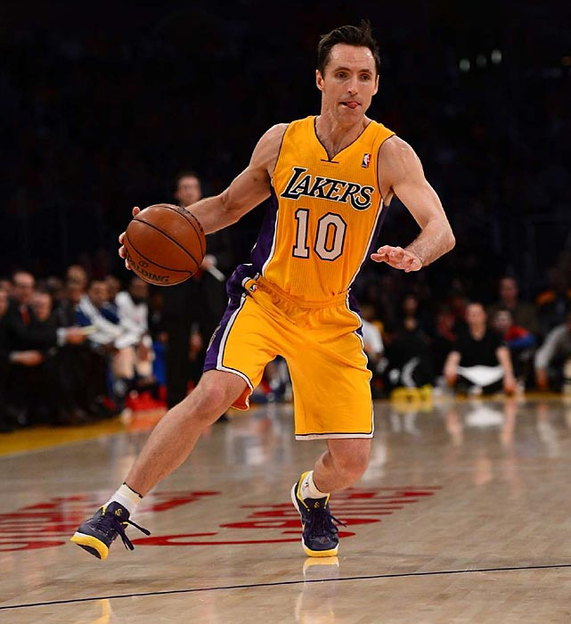 The Lakers are hoping to have Nash back from hip and hamstring injuries for the playoffs. But it remains to be seen how effective the 39-year-old two-time MVP could be after missing the final eight regular-season games. It'd be fun, though, to see Nash renew his playoff rivalry with San Antonio.